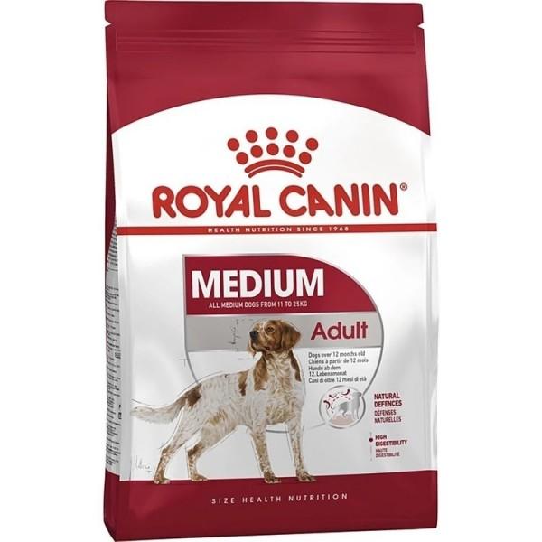 غذای خشک سگ رویال کنین مدل Medium Adult وزن 15 کیلوگرم