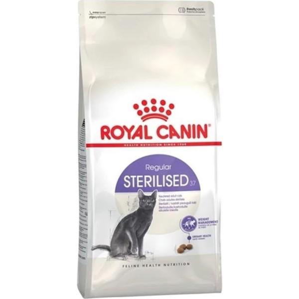 غذای خشک گربه رویال کنین مدل STERILISED وزن 10 کیلوگرم