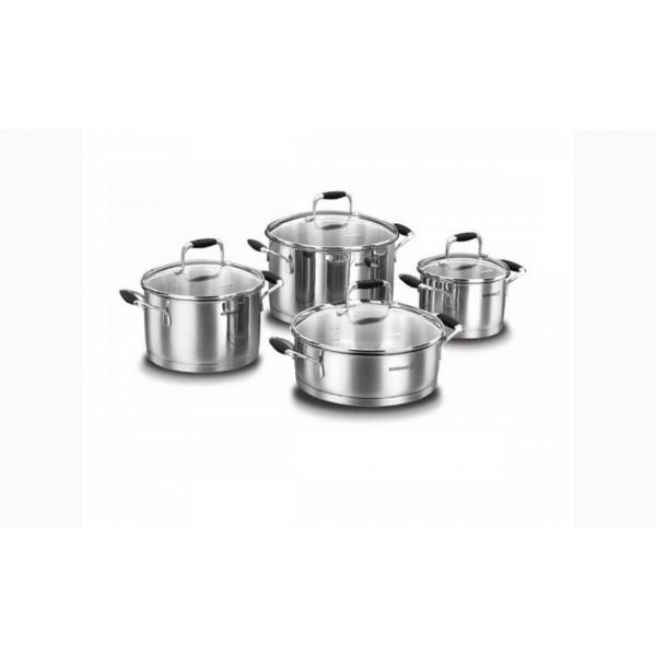 سرویس پخت و پز 8 پارچه کرکماز مدل فلورا کد A1979-03