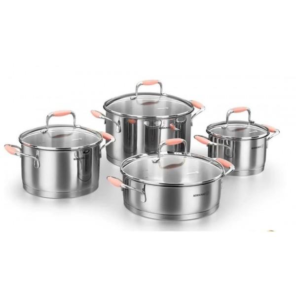 سرویس پخت و پز 8 پارچه کرکماز مدل فلورا کد A1979-1