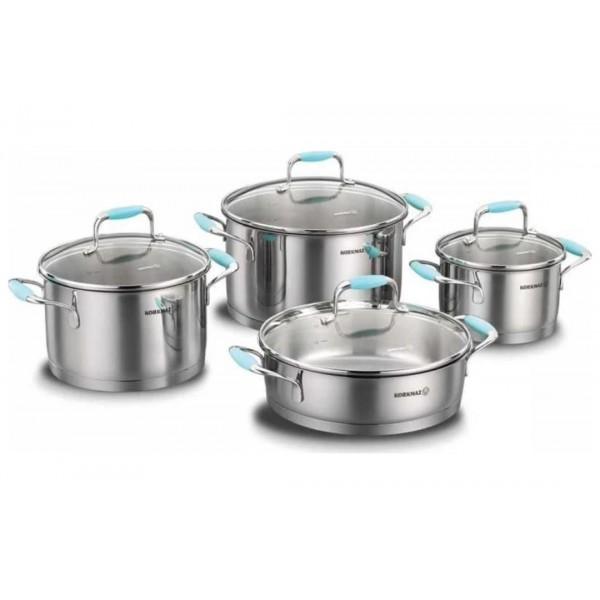 سرویس پخت و پز 8 پارچه کرکماز مدل فلورا کد A1979-4