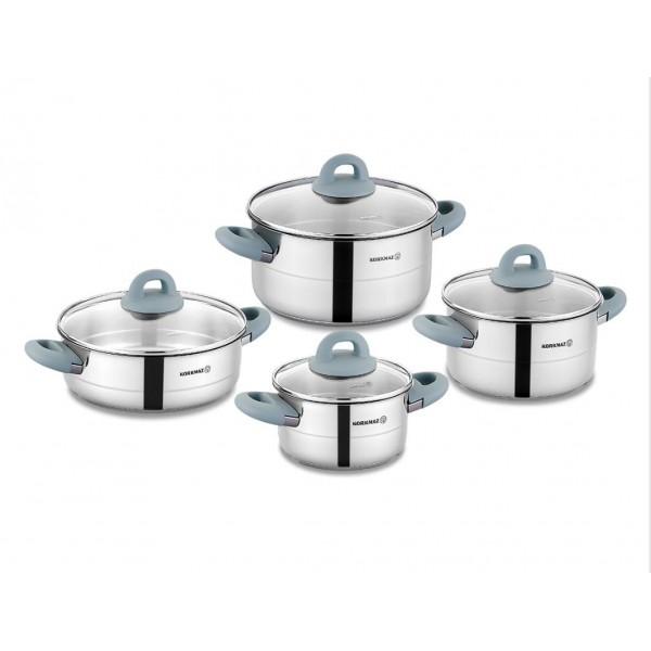 سرویس پخت و پز 8 پارچه کرکماز مدل هرا کد 1087 -1