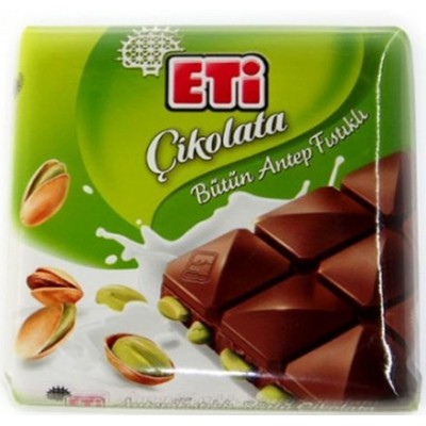 شکلات پسته دار اتی Eti chikolata