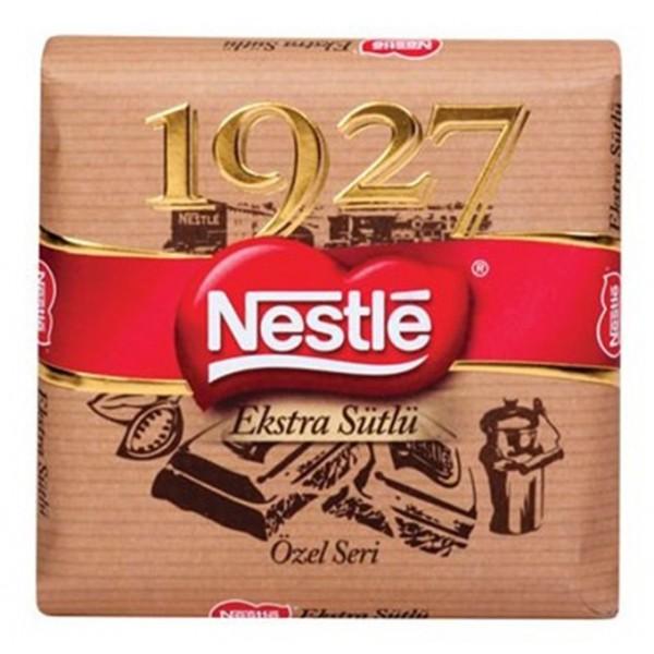 nestle بسته 6 عددی شکلات شیری نستله 80 گرمی مدل 1927