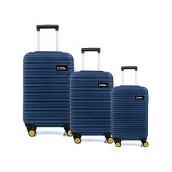 مجموعه سه عددی چمدان نشنال جئوگرافیک مدل N 2001